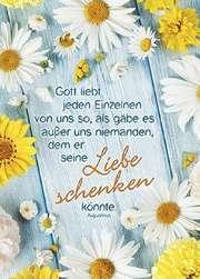 Postkarten: Gott liebt jeden Einzelnen, 4 Stück