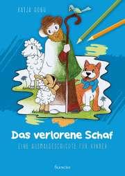 Das verlorene Schaf - Malbuch