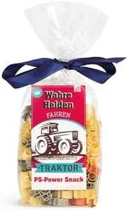 """Nudeln """"Wahre Helden fahren Traktor"""