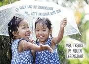 Postkarten: Viel Freude im neuen Lebensjahr, 12 Stück
