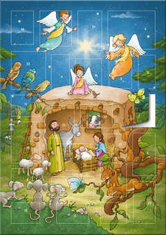Der magnetische Adventskalender - Ein Stern leuchtet in der Nacht