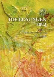 Losungen 2022 bunt, Geschenkausgabe - Großdruck