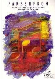 Klavierausgabe: Farbenfroh