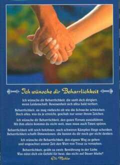 Postkarten: Ich wünsche dir Beharrlichkeit, 12 Stück