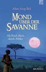 Mond über der Savanne