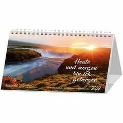 Heute und morgen bin ich geborgen 2022 - Postkartenkalender