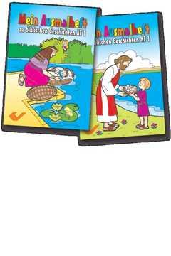 Mein Ausmalheft zur Bibel AT 1/NT 1 - Paket