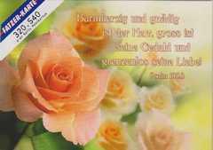 Postkarten Rosen, 6 Stück
