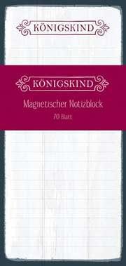 """Notizblock """"Königskind"""""""