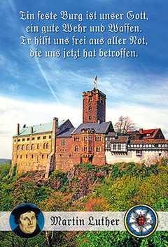 Faltkarte: Ein feste Burg - Neutral