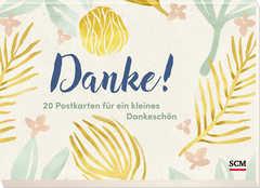 Danke! - Postkartenbuch