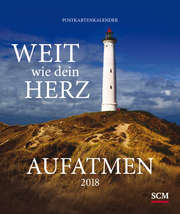 Aufatmen 2018 - Postkartenkalender