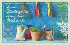 Kräuter-Dip-Postkarte - Wer einen Kräutergarten anpflanzt,