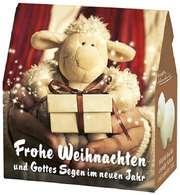 """Schafmilchseife Schaf """"Frohe Weihnachten"""""""